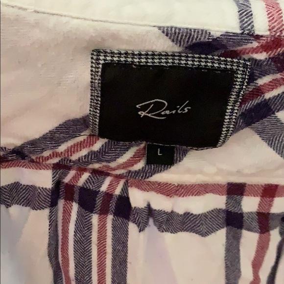 Rails Tops - Rails L cotton shirt. Very soft